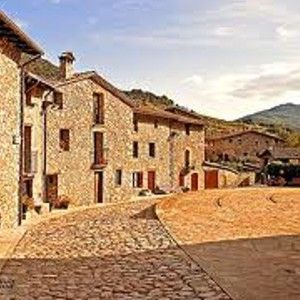 HTS001 Medieval Catalan Loop Little town in Pyrenees