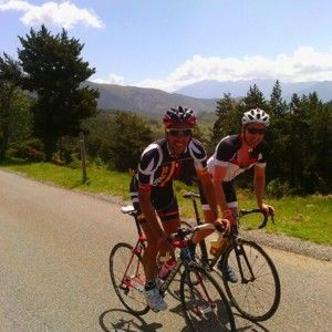 RTS005 Stage in the east pyrenees roads of cerdanya
